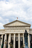 Macedonisch Archeologisch Museum stock fotografie