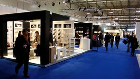 Macef, exposição Home internacional 2010 da mostra Imagem de Stock Royalty Free