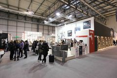Macef, exposition à la maison internationale 2011 d'exposition Images libres de droits