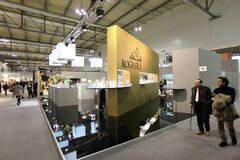 Macef, exposition à la maison internationale 2011 d'exposition Images stock