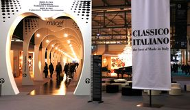 Macef, Internationaal Huis toont Tentoonstelling 2010 Stock Afbeeldingen