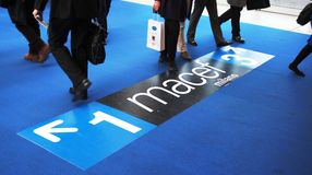 Macef, mostra domestica internazionale 2010 di esposizione Fotografia Stock