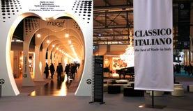 Macef, mostra domestica internazionale 2010 di esposizione Immagini Stock