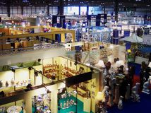 MACEF trade fair, FieraMilano exhibition centre, Milan, Italy. FieraMilano is the most important trade fair organizer in Italy. Opened in 2005, their new Stock Photo