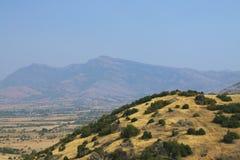 Macegonia, Pelagonia地区, Prilep城镇,酵母酒蛋糕山 免版税图库摄影