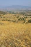 Macegonia, Pelagonia地区, Prilep城镇,酵母酒蛋糕山 库存照片