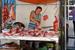Macellaio vietnamita Fotografia Stock