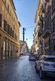 Macelli街道罗马 免版税库存图片