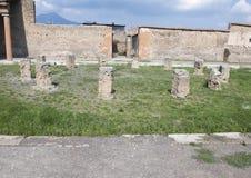 Macellum de Pompeya, Di Pompeya de Scavi Imagen de archivo libre de regalías