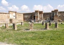 Macellum de Pompeya, Di Pompeya de Scavi Fotos de archivo libres de regalías