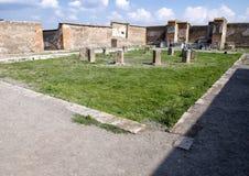 Macellum de Pompeya, Di Pompeya de Scavi Imagen de archivo