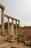 Macellum, Jerash Royalty-vrije Stock Afbeelding