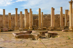 Macellum, Jerash Royalty Free Stock Photography