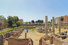 Macellum of Pozzuoli Royalty Free Stock Images