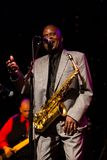 Maceo Parker in Concert at Triple Door Royalty Free Stock Images