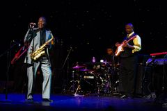 Maceo Parker in Concert at Triple Door Royalty Free Stock Image