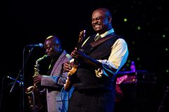 Maceo Parker in Concert at Triple Door Royalty Free Stock Photos