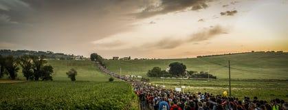 Macerata - Loreto Pilgrimage stock image
