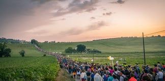 Macerata - Loreto Pilgrimage stock photos