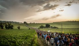Macerata - Loreto Pilgrimage royalty free stock image