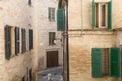 Macerata (Marches, Italy) Stock Image