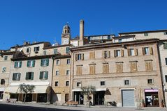 Macerata scene - Italy Royalty Free Stock Images