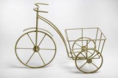 Maceta blanca miniatura del triciclo ilustración del vector