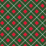 Macgregor tartan kilt fabric textile diagonal seamless backgroun Royalty Free Stock Images