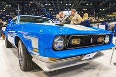 Mach 1 de mustang de Ford Images libres de droits