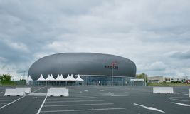 Mach 36 - multifunctional hall in Chateauroux Stock Photography