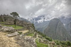 Mach Picchu Peru Zdjęcie Royalty Free
