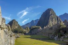 Mach Picchu rujnuje Cuzco Peru Zdjęcia Royalty Free