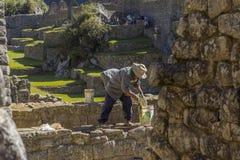Mach Picchu rujnuje Cuzco Peru Zdjęcia Stock