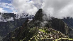 Mach Picchu w chmurach zbiory wideo