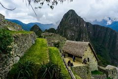 Mach Picchu w Peru Custo Ameryka Południowa obraz stock