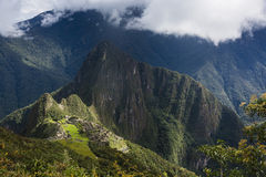 Mach Picchu, widok od above Obrazy Stock