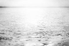 Machać wody powierzchnię jezioro obraz royalty free