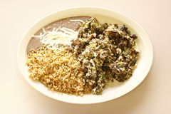 Machaca breakfast Stock Image