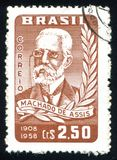 Machado DE Assis Royalty-vrije Stock Afbeeldingen