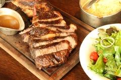 Machado de guerra Rib Steak Imagem de Stock Royalty Free