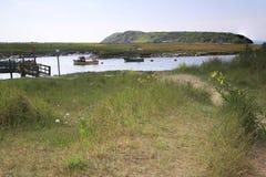 Machado do rio perto de Weston Super Mare Foto de Stock