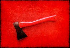 Machado vermelho Imagens de Stock