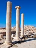 Machaerus (Mukawir), Jordanië Stock Fotografie