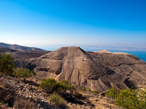 Machaerus (Mukawir), Jordanië Royalty-vrije Stock Fotografie