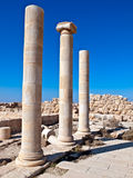 Machaerus (Mukawir), Jordanien Stockfotografie