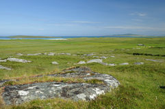 Machair Croft Farmland Stock Photography