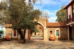 Machairas修道院在塞浦路斯 免版税库存照片