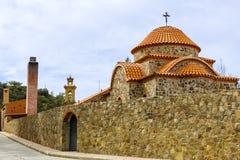 Machairas修道院在塞浦路斯 免版税库存图片