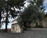 Machairas修道院 免版税图库摄影