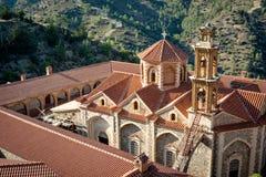 Machairas圣洁,皇家和Stavropegic修道院  尼科西亚 库存图片